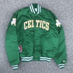Starter 1980's Boston Celtics Satin Jacket